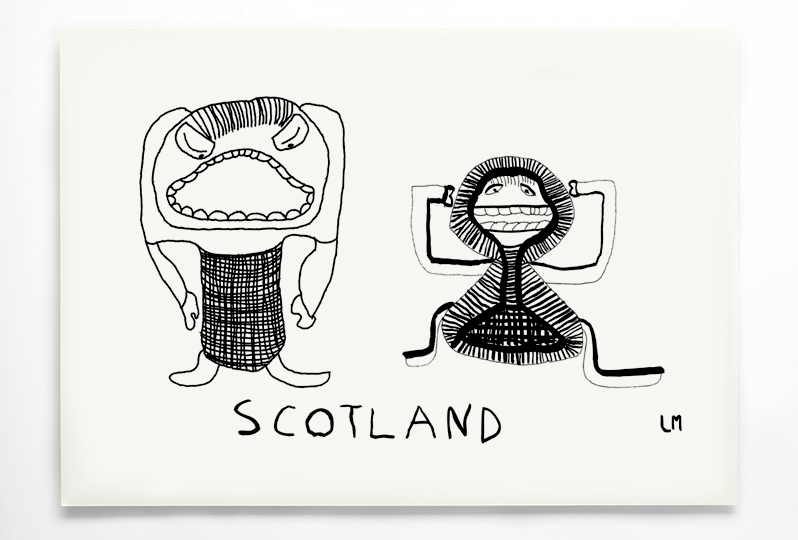 Lester Magoogan, Scotland